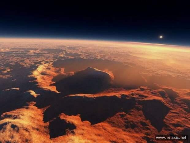 Марсианские пейзажи (46 фото)