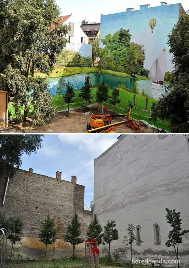 Почему надо узаконить граффити  (7 примеров)