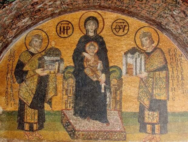 Превращение Византия в Константинополь