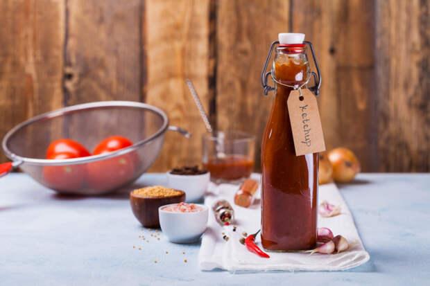 Как приготовить кетчуп, похожий на Heinz