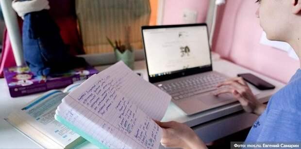 Около 6 тыс видеоуроков от учителей Москвы появилось в библиотеке МЭШ/Фото: Е. Самарин mos.ru