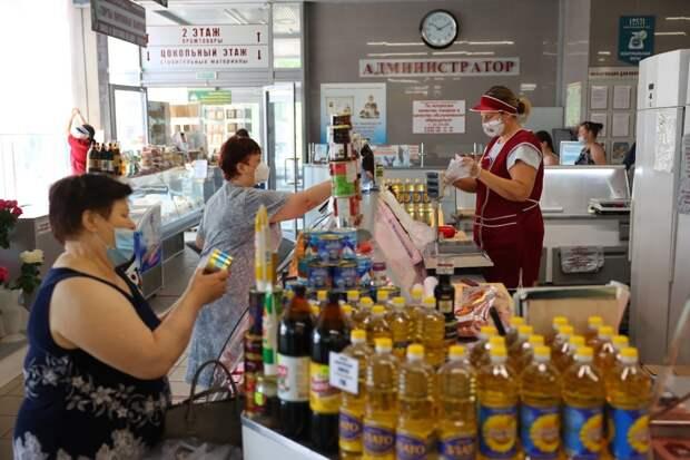 В торговых точках Дзержинска наличие масок будут проверять каждый день