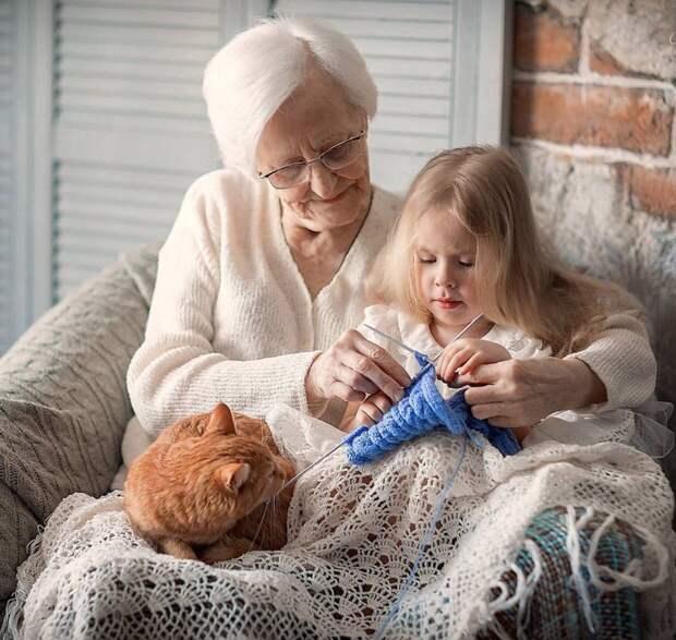 Волшебная бабушкина шаль...