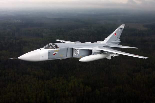 Самолёт Су-24 разбился под Пермью