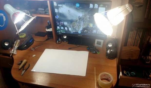 Как сделать студийный свет своими руками