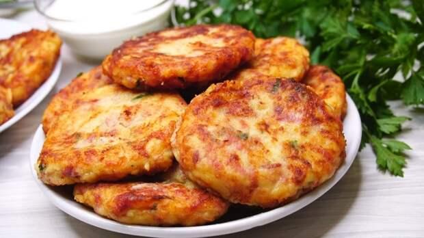 Биточки картофельные Биточки, Рецепт, Еда, Видео рецепт, Картофель, Видео, Длиннопост