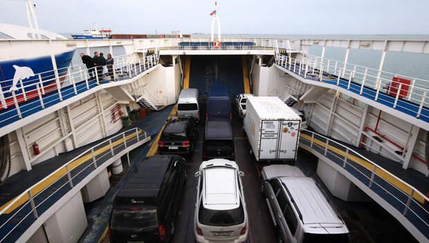 Турция закрыла порты для крымских паромов