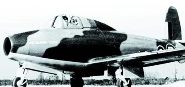 Экспериментальный реактивный самолет E28/39