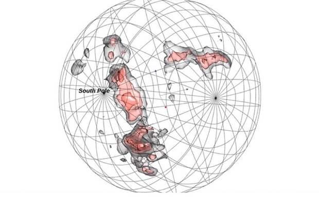 Позади Млечного Пути обнаружена «стена» в 1,4 млрд световых лет