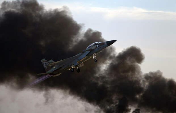 Израильские ВВСатаковали здание штаба внутренней безопасности ХАМАС