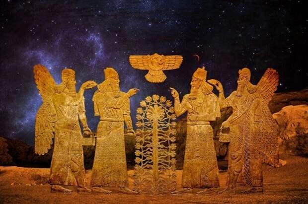 Откуда появились Шумеры, их религия и наука