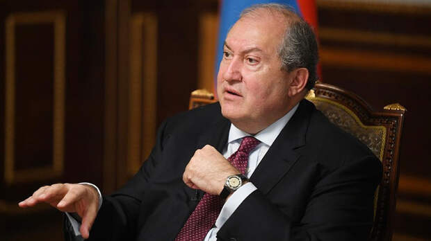 Президент Армении 10 мая посетит Россию с рабочим визитом
