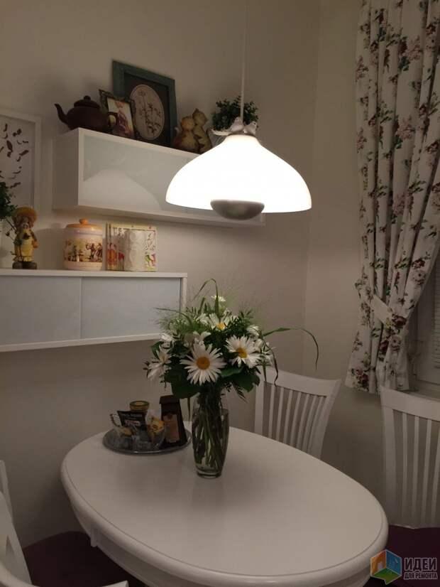 Светлая кухня серия дома I605/12+Спальня
