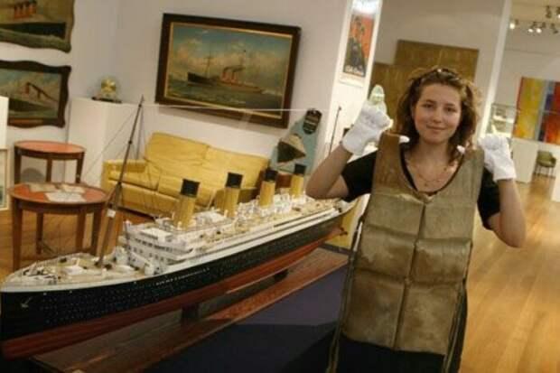 Спасательный жилет с лайнера «Титаник»