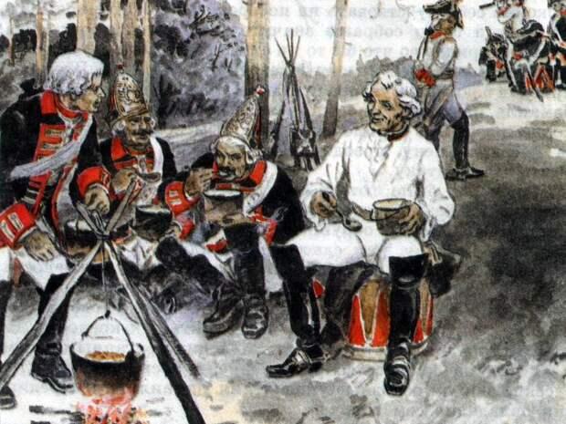 300 лет армейской кухни. Каша генерала Суворова