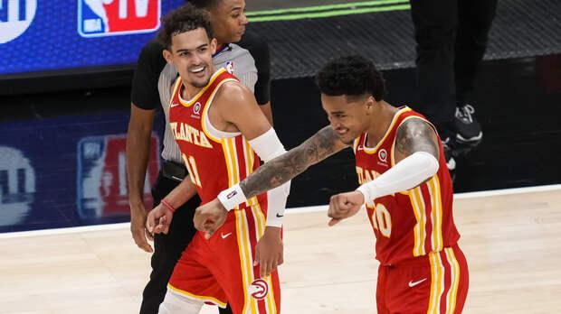 «Атланта» и «Нью-Йорк» вышли в плей-офф НБА