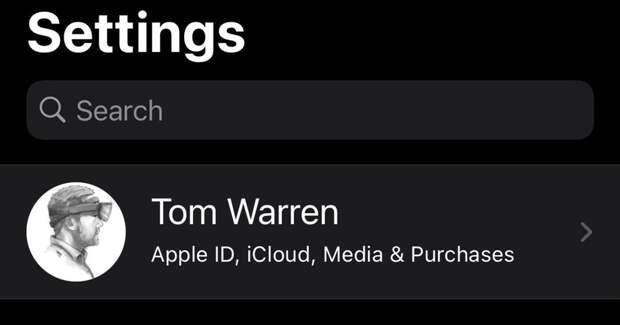 Пользователи Apple пожаловались на появление рекламы в настройках iOS