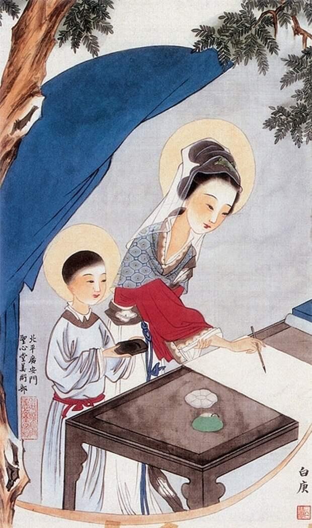 Японские христианские иконы: привычные образы в необычной трактовке