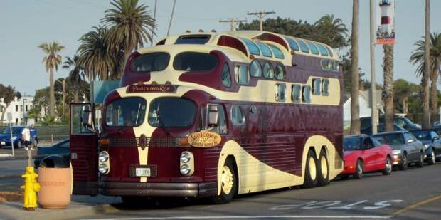 Самые необычные автобусы с причудливым дизайном автобус, автодизайн, дизайн