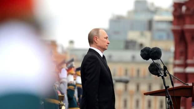 """Путин напомнил о """"нацистском звере"""", пришедшем из Европы"""