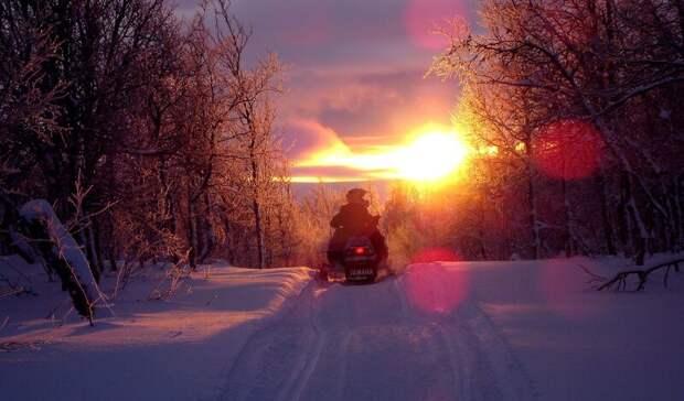 Два подростка могут получить реальный срок заугон снегохода вКарелии