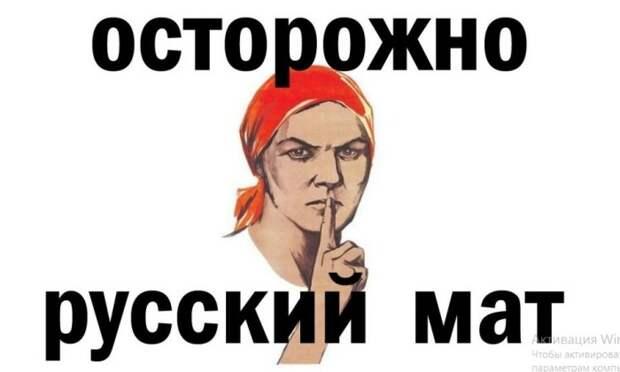 Принято выделять русский мат в отдельную категорию.