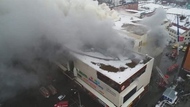 Жуткие фото из торгового центра в Кемерово