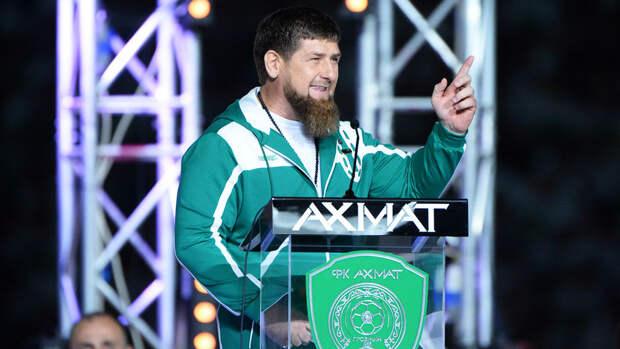 Президент Чечни Кадыров: я думал, что Шлеменко актер или блогер