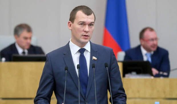 Дегтярев выступил заразвитие молодежной политики вХабаровском крае