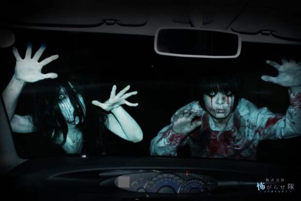 Гараж ужаса: зомби-аттракцион из Японии с кровью за доплату