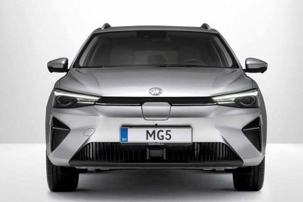 MG5 Electric: первый электрический, готовый к отправке в Европу