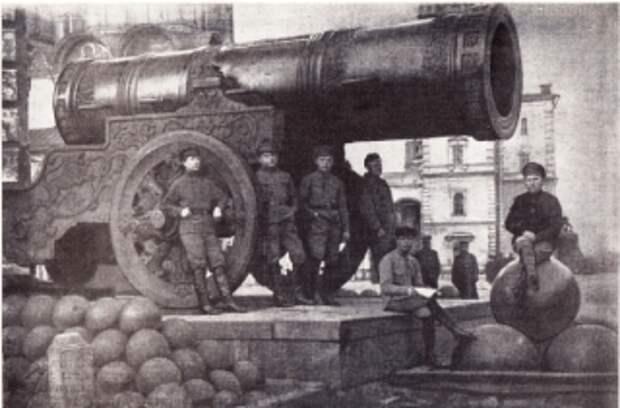 Латышские стрелки - ударный отряд Советской власти
