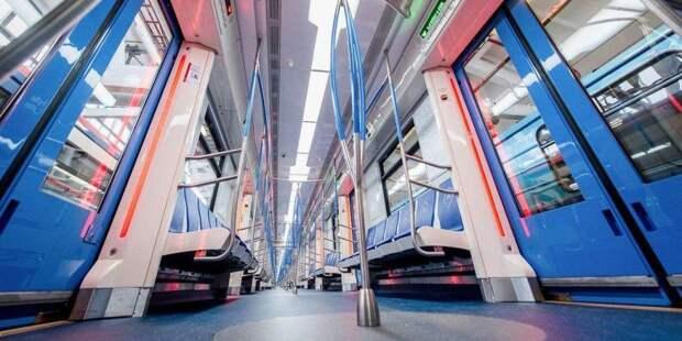 На Таганско-Краснопресненской линии метрополитена теперь курсируют только инновационные поезда