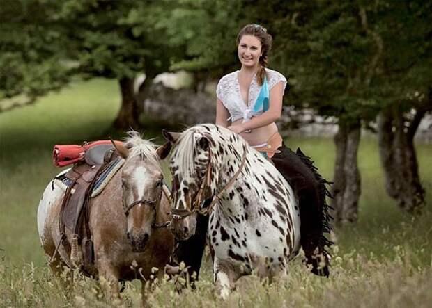 Сексуальлные швейцарские фермерши, календрь, фото 7
