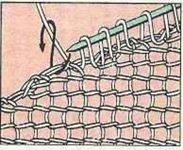 Вязание спицами для начинающих. Планки.
