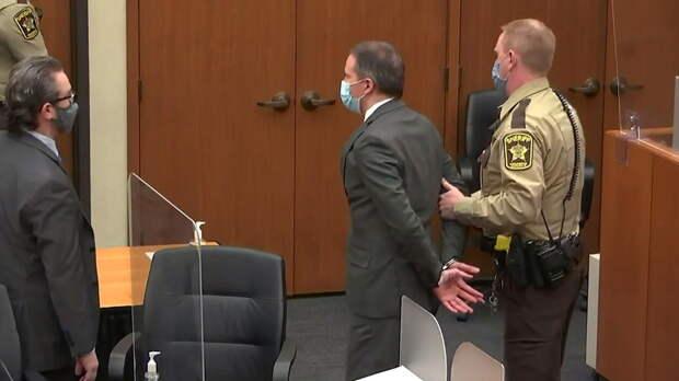 Суд назвал срок вынесения окончательного приговора Шовину за убийство Флойда
