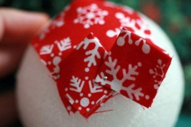 Новый год: шишки на елку. МК
