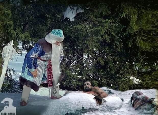 Мастер фотошопа изКазани прокачивает кадры изфильмов неожиданными персонажами