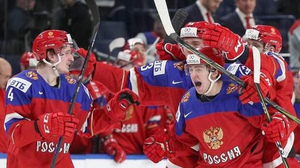 Сборная России победила сборную Канады со счетом 2-1