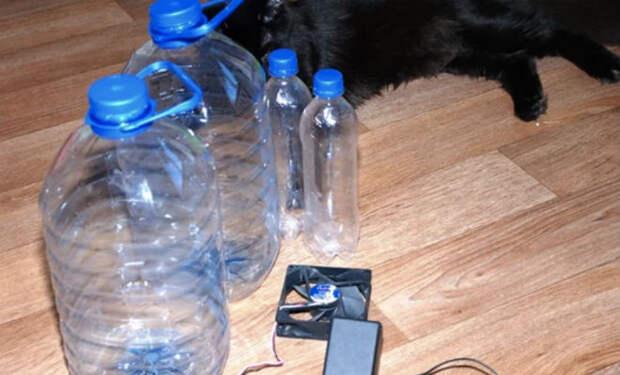 Кондиционер из пластиковых бутылок