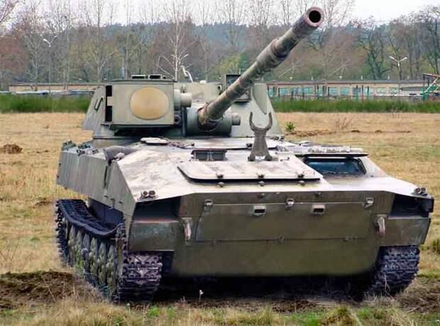 Самоходная противотанковая пушка 2С15 «Норов»