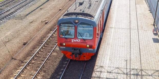 Несколько электричек Ленинградского направления отменили 16 июня