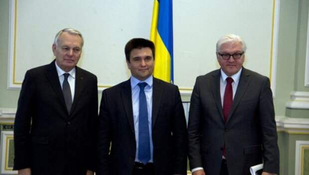 До Украина дошло: надо выкинуть распоясовшихся Германию и Францию в мусор