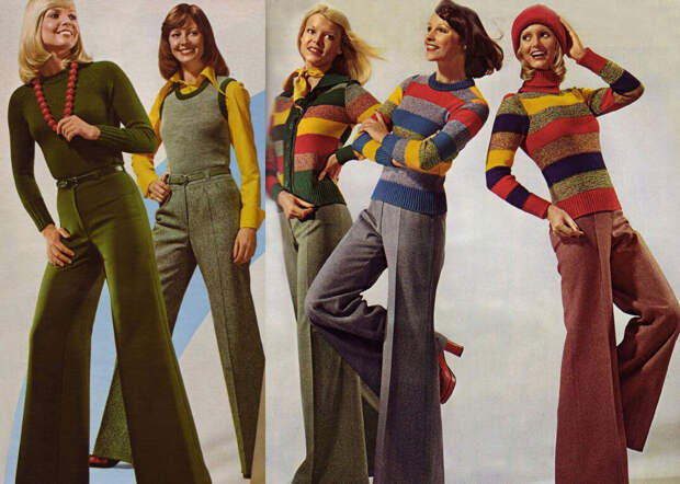 Брюки-клеш: возвращение из 1970-х