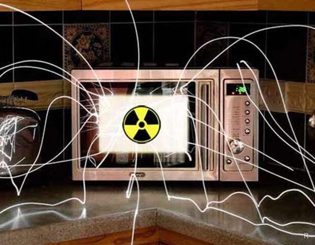 Картинки по запросу мифы о микроволновке