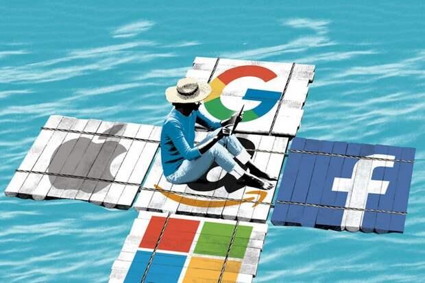 Валентин Катасонов: Способны ли власти США обуздать цифровых монстров?