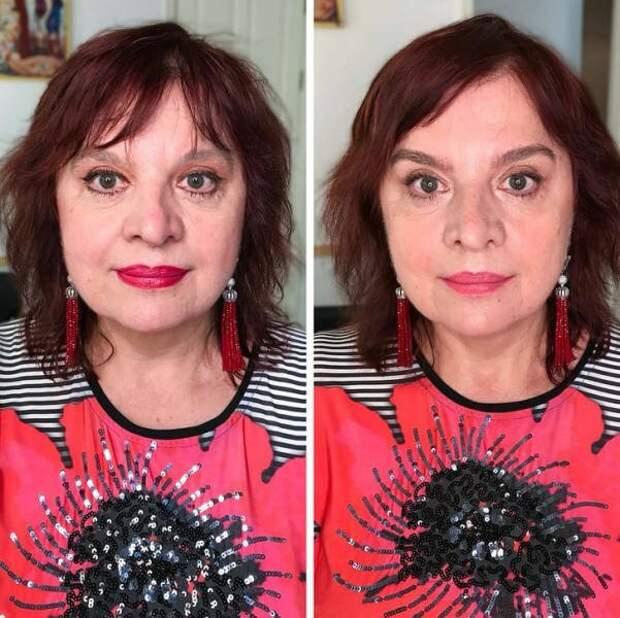 9 Девушек сперва сами нанесли себе макияж, а затем это сделал визажист и что из этого вышло