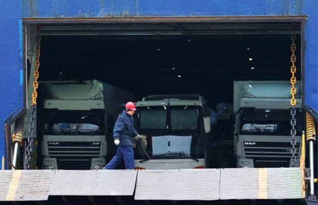 Россия налаживает паромное сообщение в обход Польши