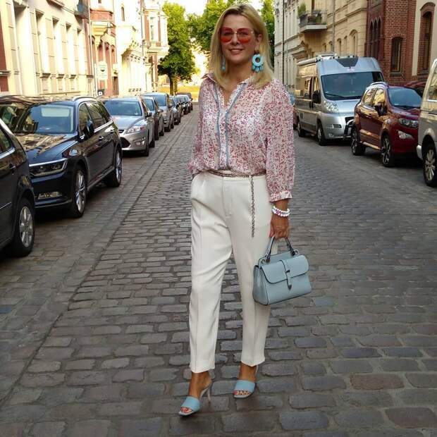 Летний городской стиль для женщин 50+