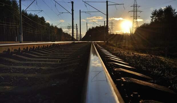 Поезд насмерть сбил бабушку вЕкатеринбурге